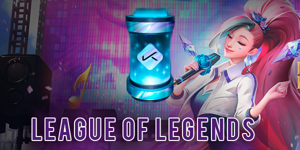 League of Legends Twitch Prime: K/DA Icon Capsule
