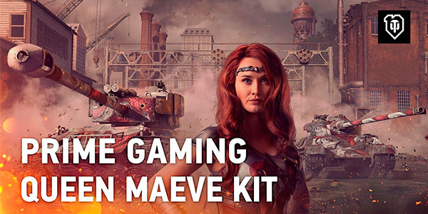 World of Tanks Twitch Prime: Queen Maeve Kit